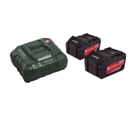 Pack 2 batteries 18 V + chargeur
